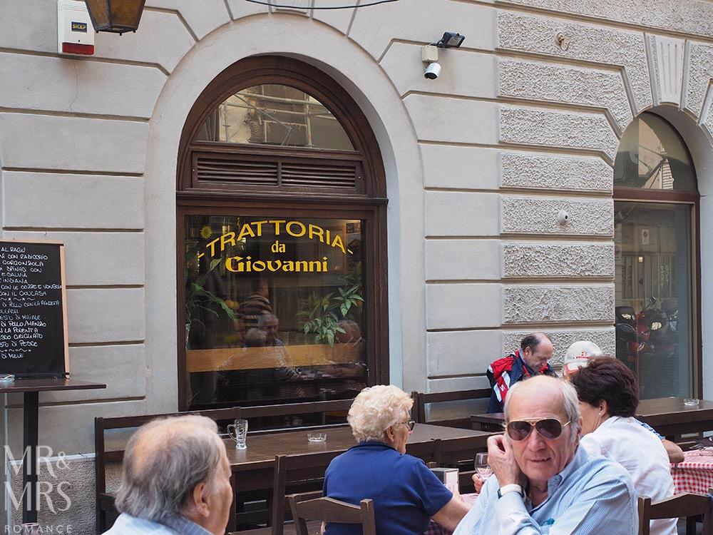 Trieste guide - Trattoria da Giovanni