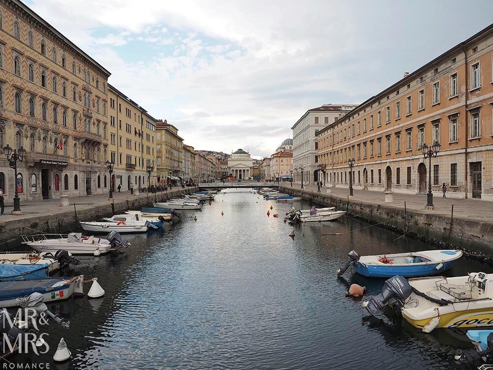 Trieste guide - Trieste Grand Canal