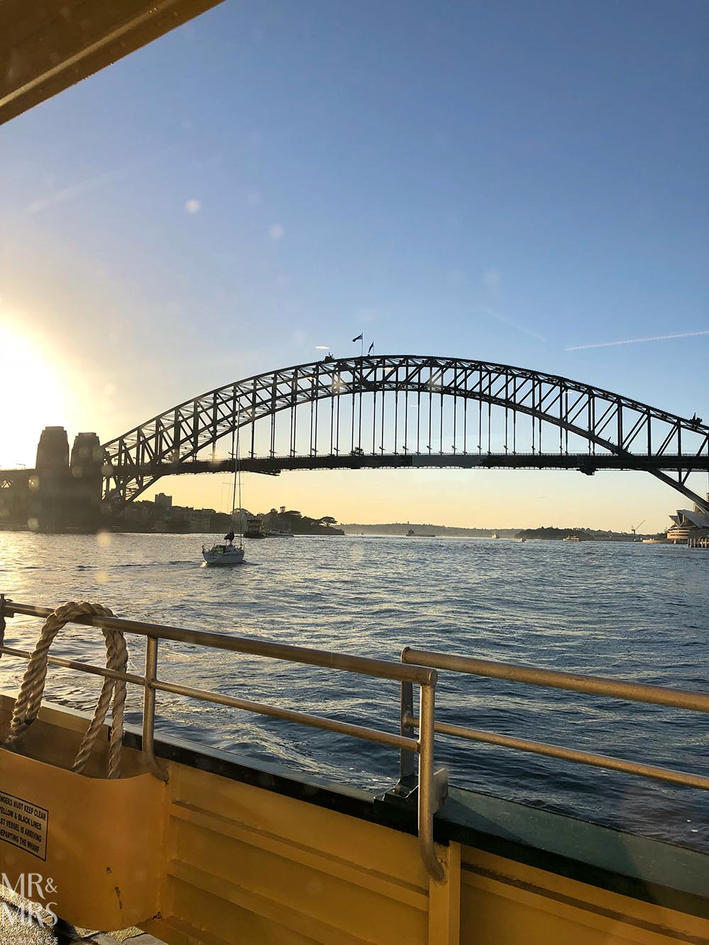 Sydney Harbour - Weekly Edition - Mr & Mrs Romance