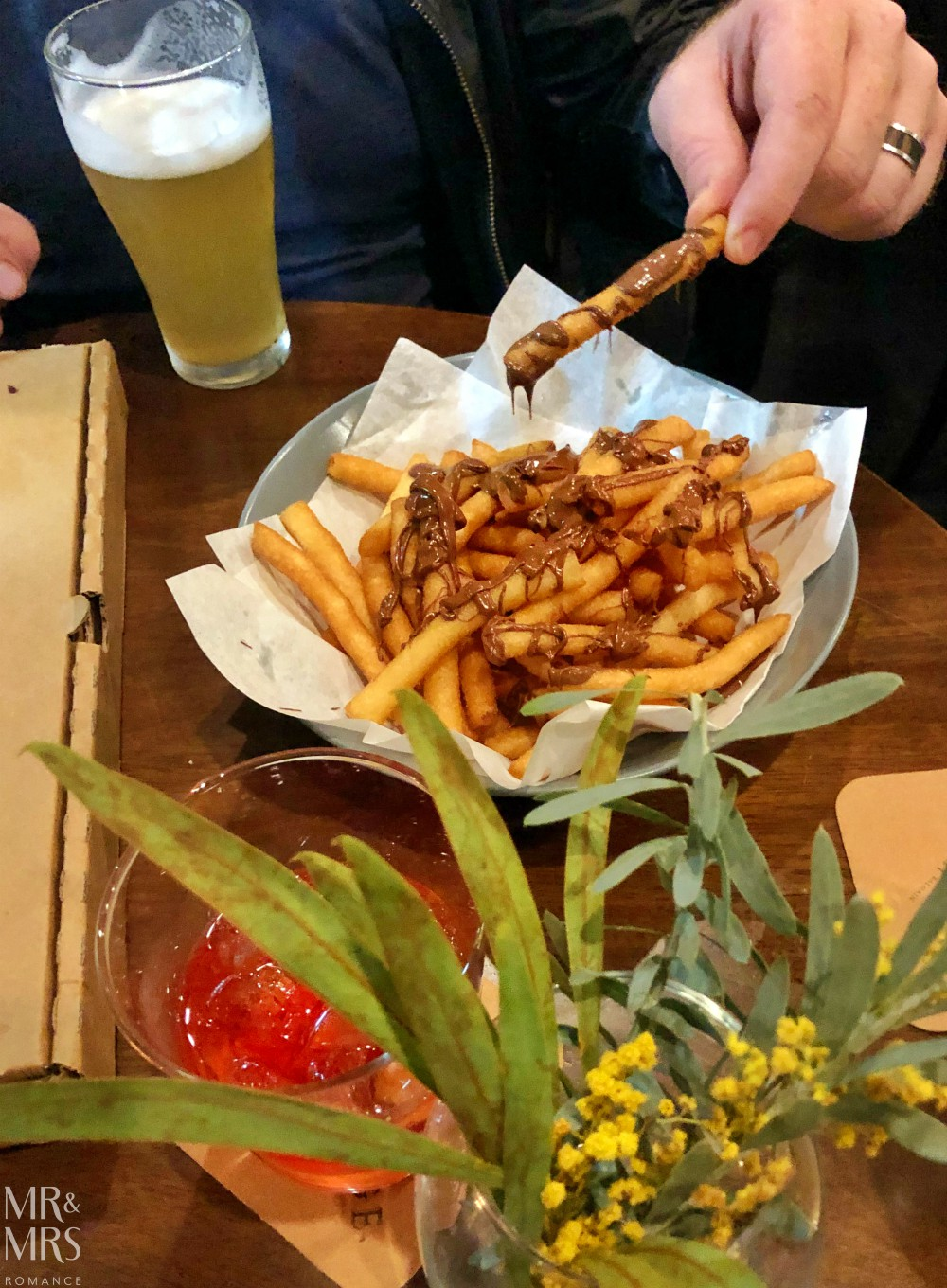 Exchange Hotel Balmain reopens - donut fries