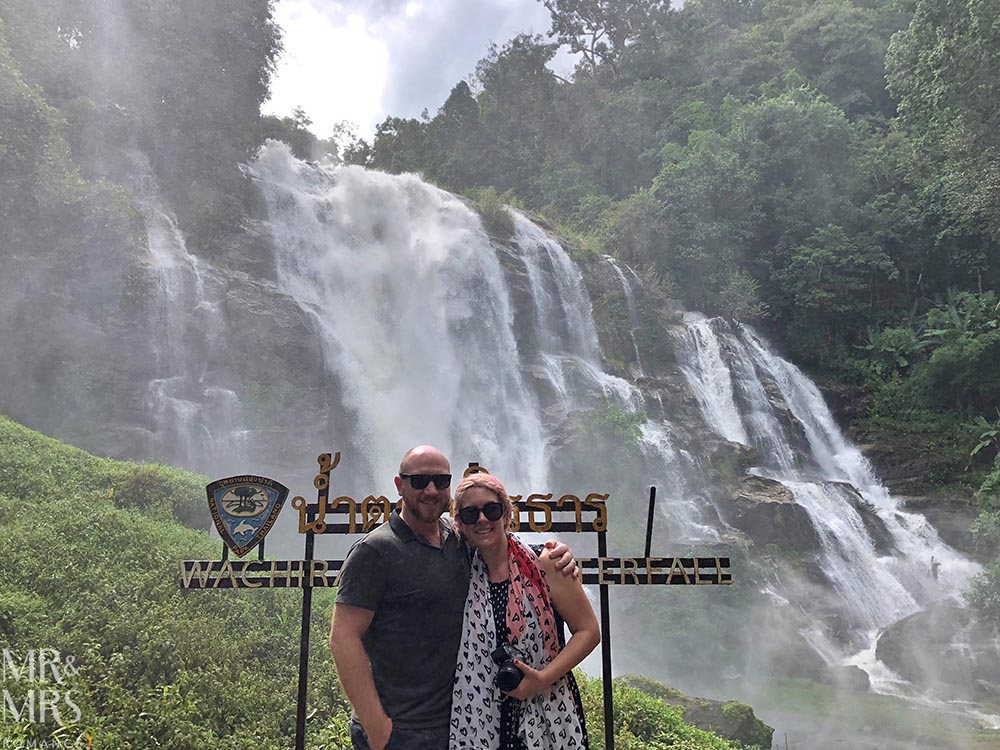 Bangkok and Chiang Mai, Thailand - Weekly Edition - waterfall nr Doi Inthanon