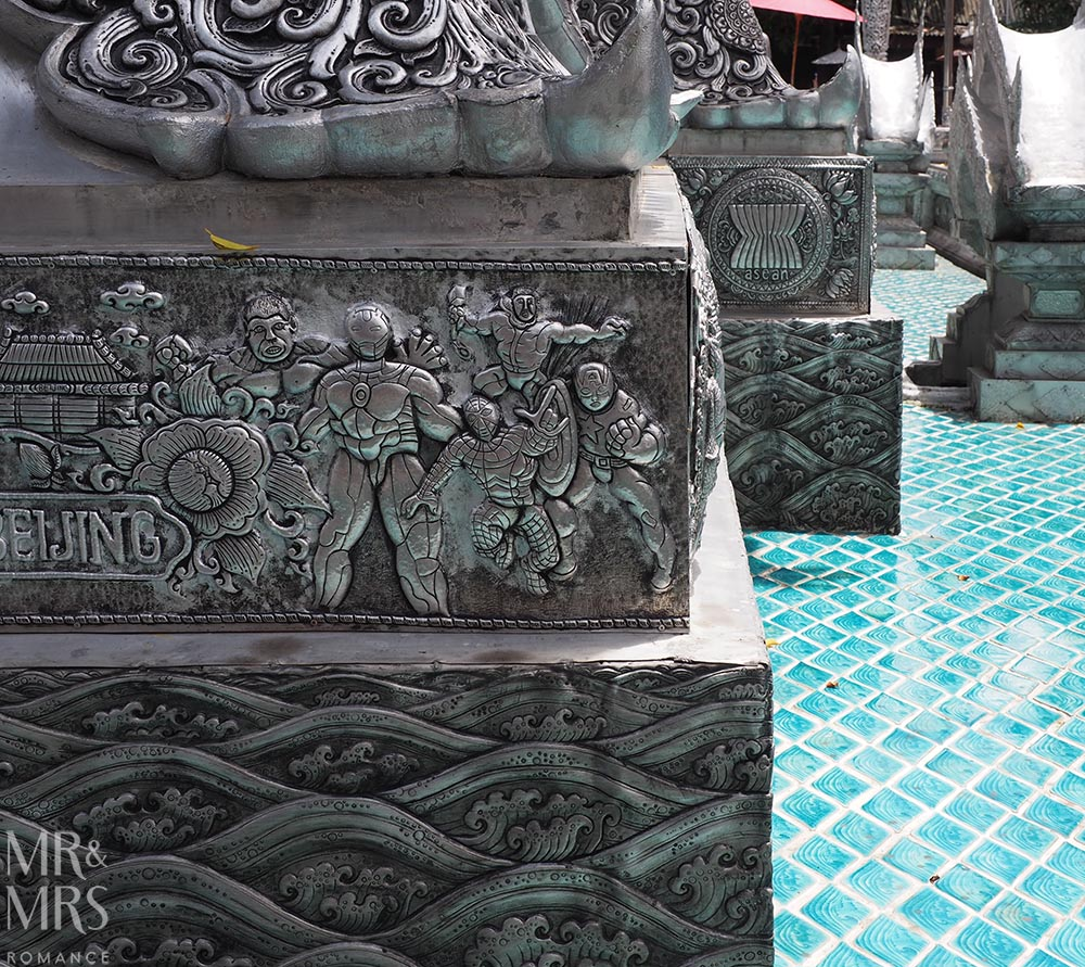 Bangkok and Chiang Mai, Thailand - Weekly Edition - silver temple
