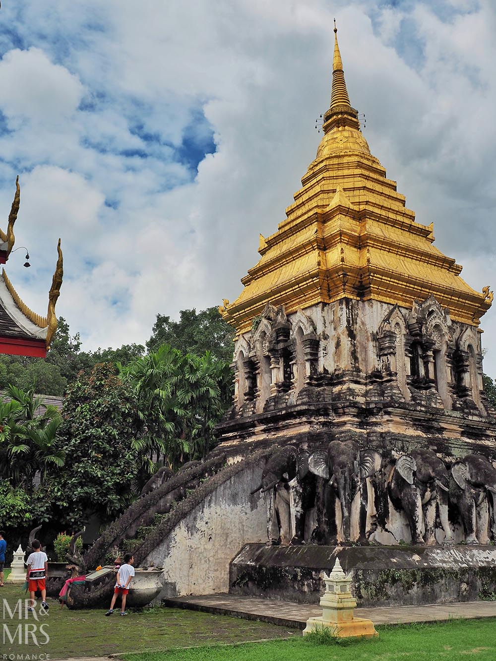 Bangkok and Chiang Mai, Thailand - Weekly Edition - Wat Chiang Mun temple