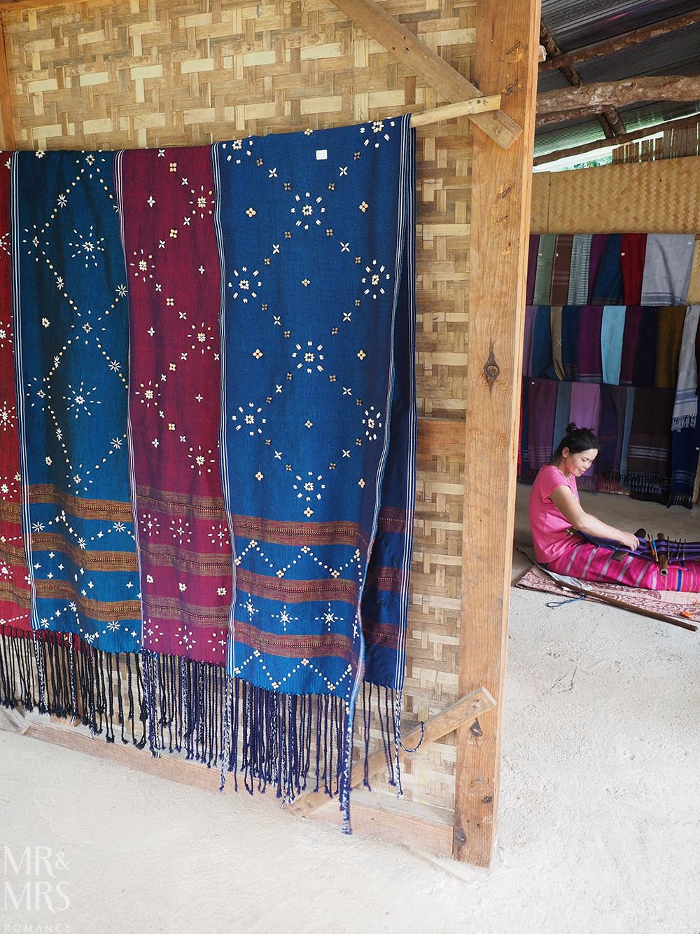 Bangkok and Chiang Mai, Thailand - Weekly Edition - weaver Karen village