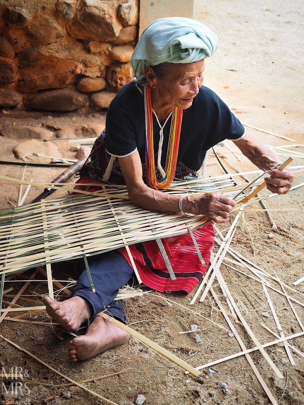 Bangkok and Chiang Mai, Thailand - Weekly Edition - basket weaver Karen village