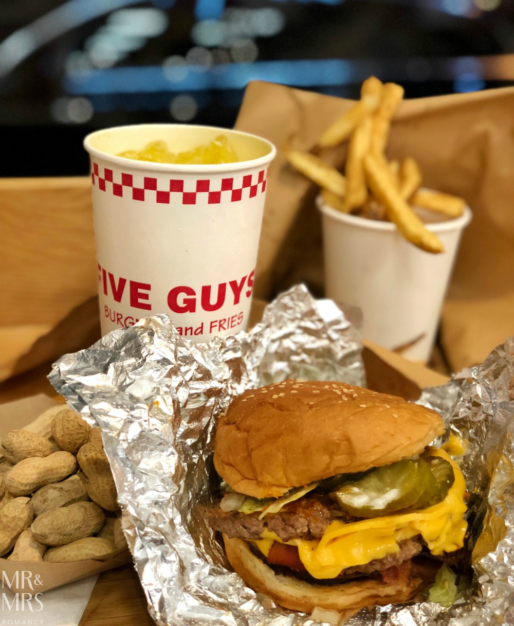 Where to burger in Miami Beach - Five Guys