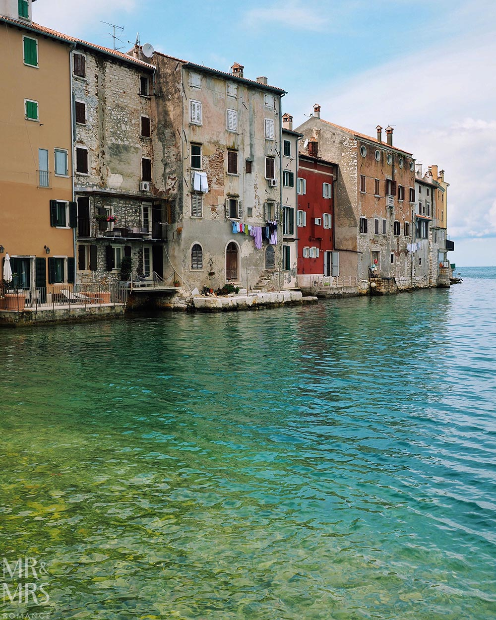 Rovinj, in Istria, Croatia