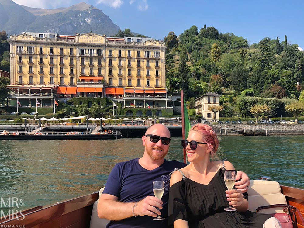 Mr & Mrs Romance on Lake Como
