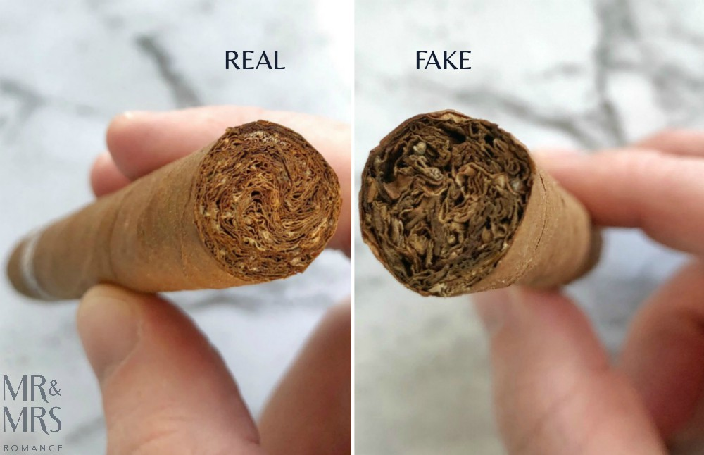 How to spot a fake Cuban cigar - real and fake