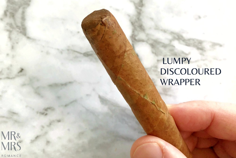 How to spot a fake Cuban cigar - wrapper