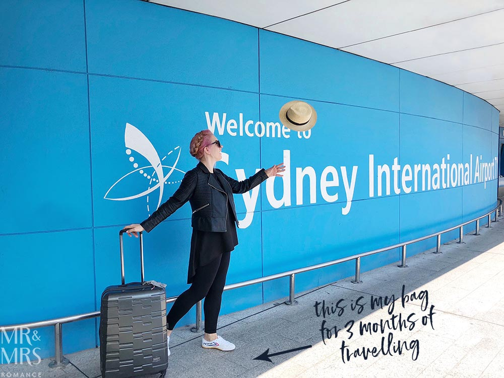 How to travel light, pack smart and stay stylish - Sydney Airport #wortharrivingearlyfor