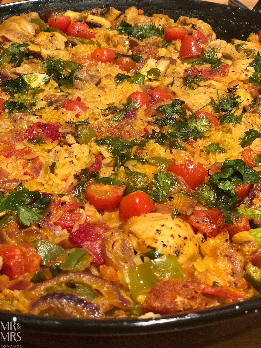 Welcome back to England Weekly Edition - Dave's Paella tight