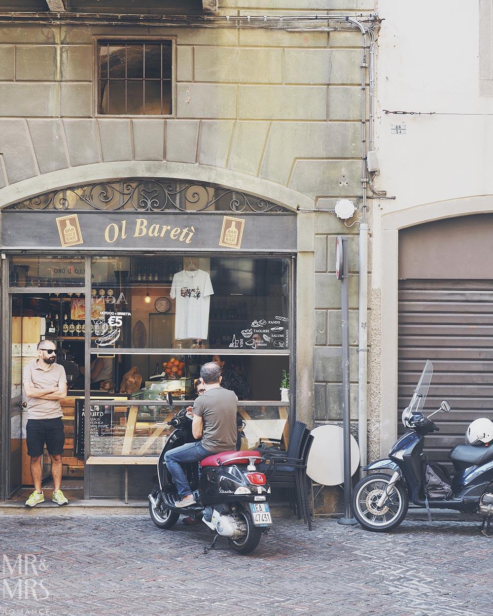 Bergamo Citta Alta Italy