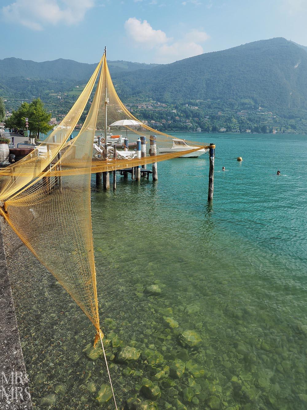 Monte Isola Lake Iseo Italy
