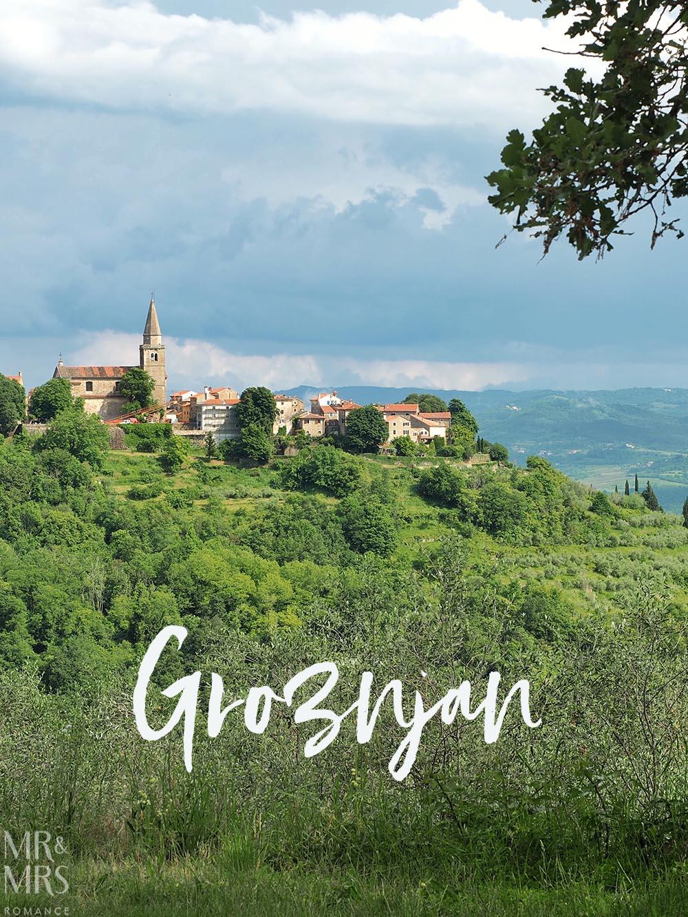 Groznjan Hilltop town Croatia Istria