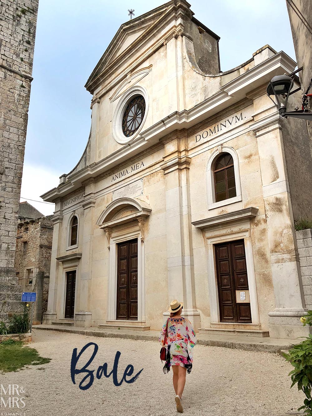 Bale Hilltop town Croatia Istria