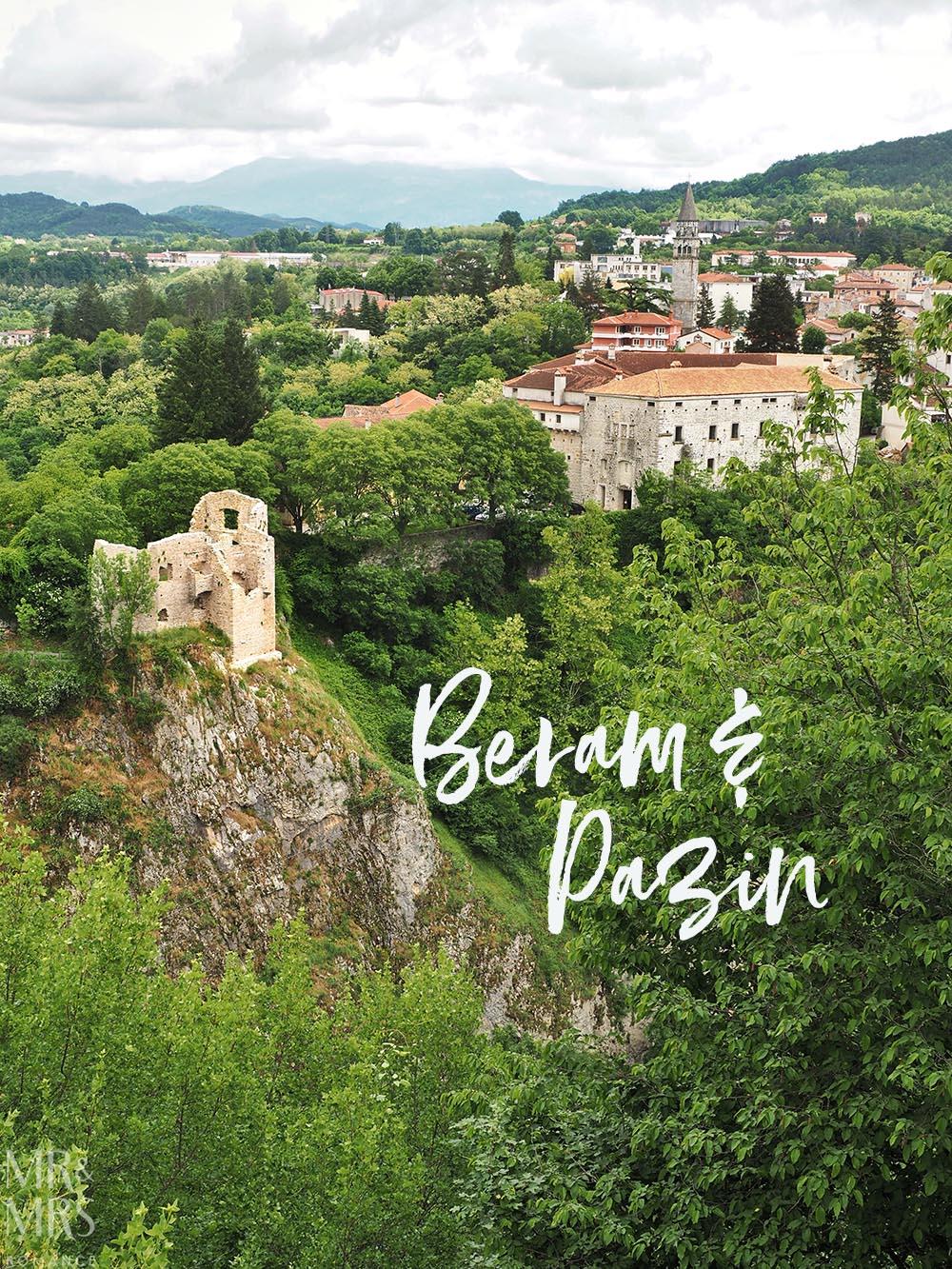 Beram Pazin Hilltop town Croatia Istria