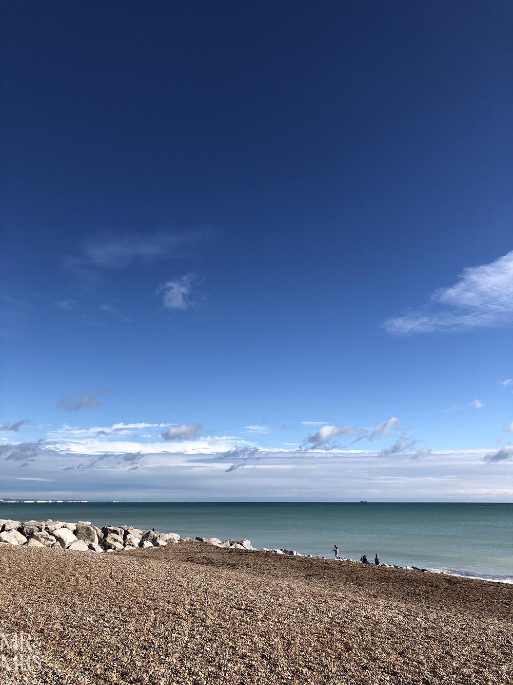 Norfolk, Suffolk, Sussex, Essex - Brighton Beach in the sun