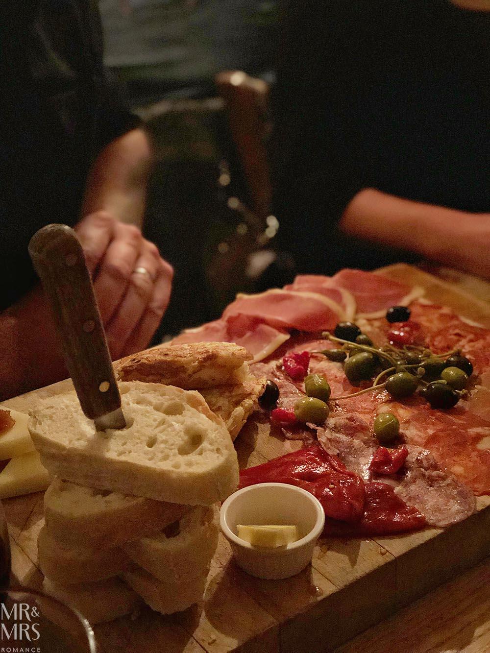 Norfolk, Suffolk, Sussex, Essex - Alma Inn Harwich meat platter