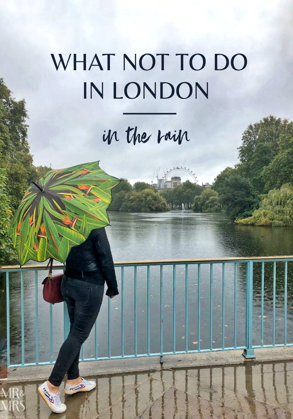 London in the rain - St James Park