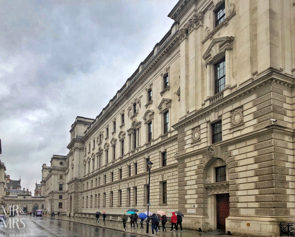 London in the rain - London streets