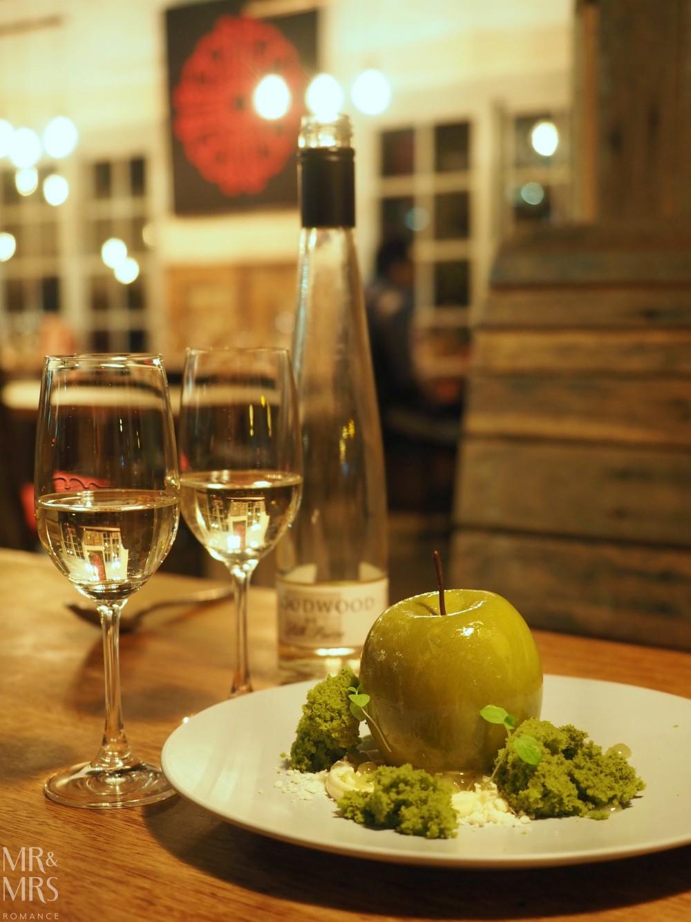 Orange Wine Festival - Charred The Apple dessert