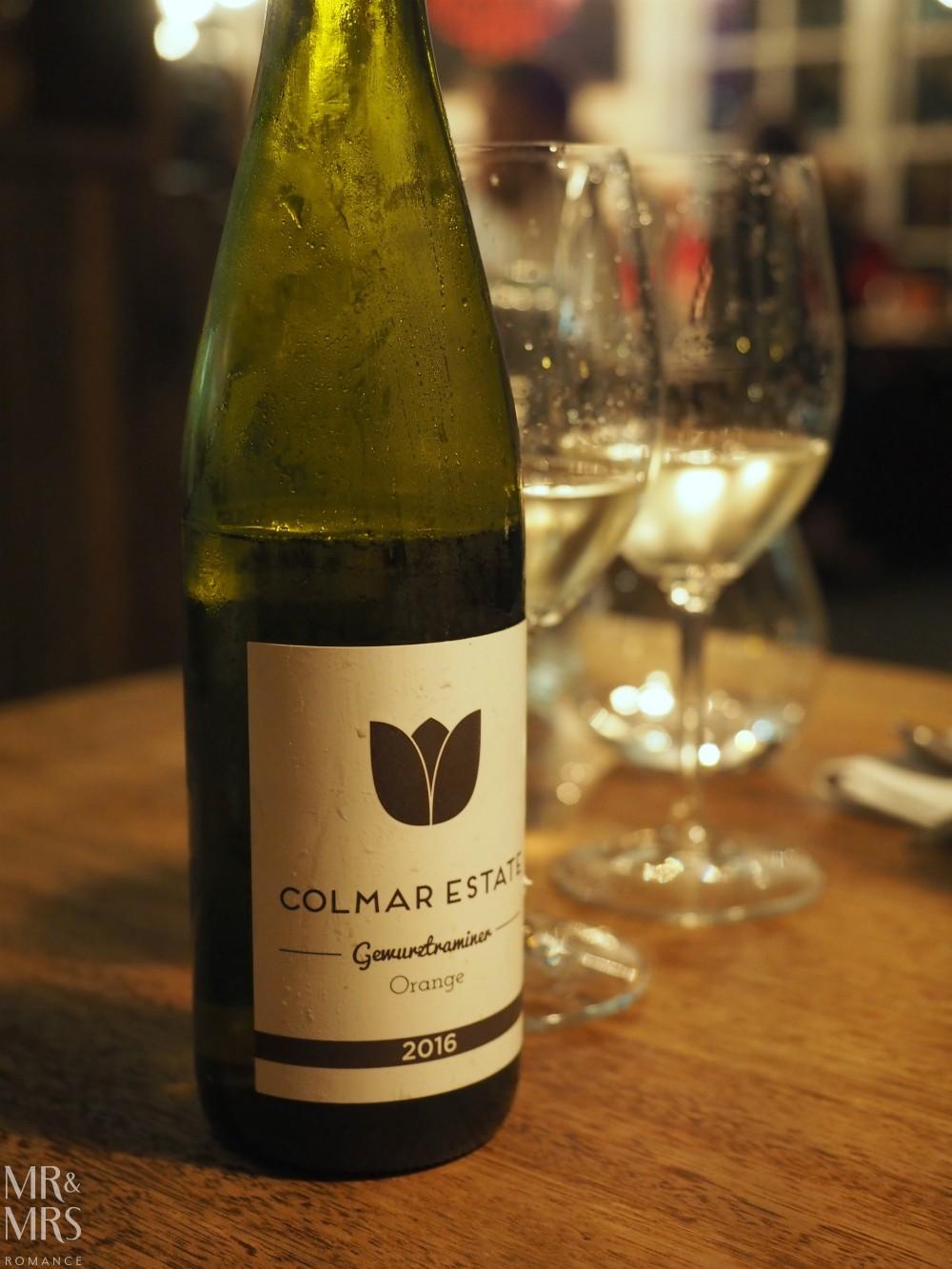 Orange Wine Festival - Charred Colmar Estate