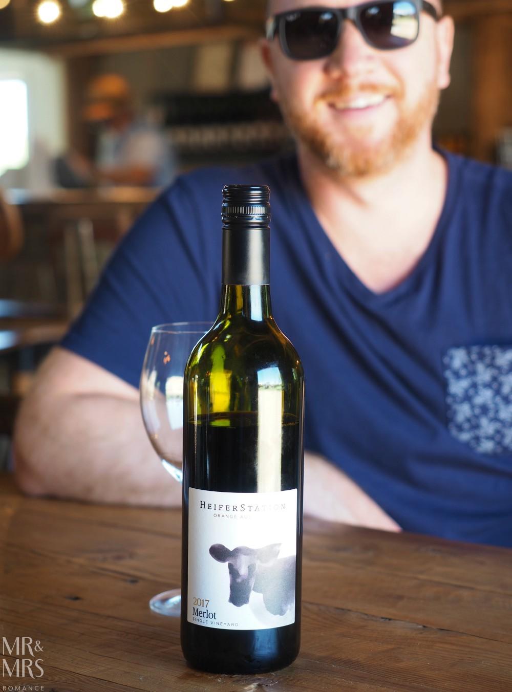 Orange Wine Festival - Heifer Station wine tasting