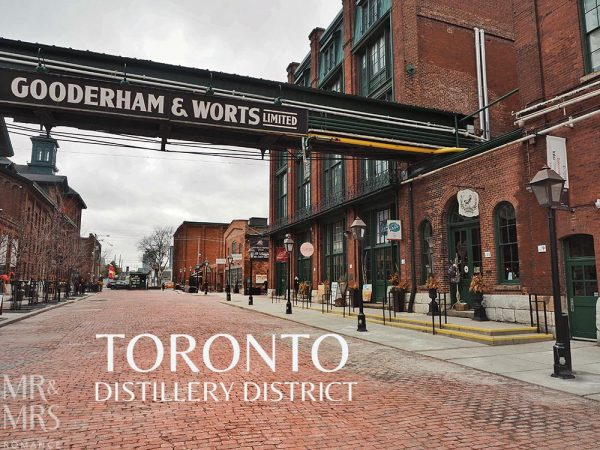 Toronto distillery district - Spirit of York