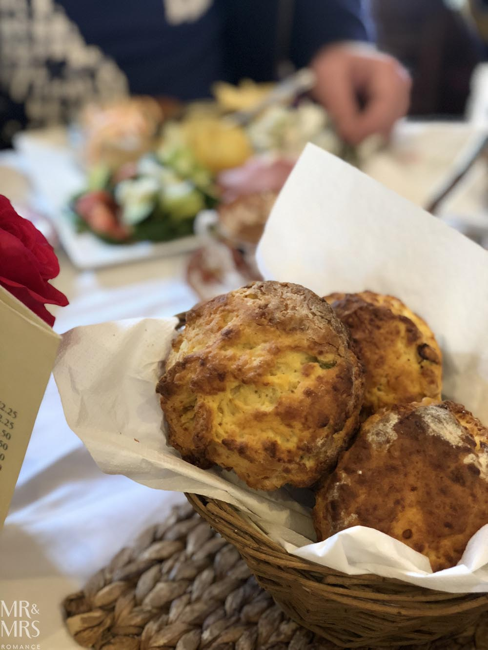 Weekly Edition - cheese scones Munnings Lavenham