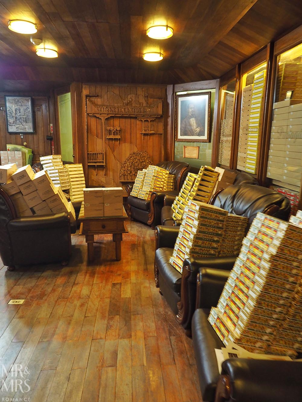 Cuban cigar factory tour Havana Partagas VIP room