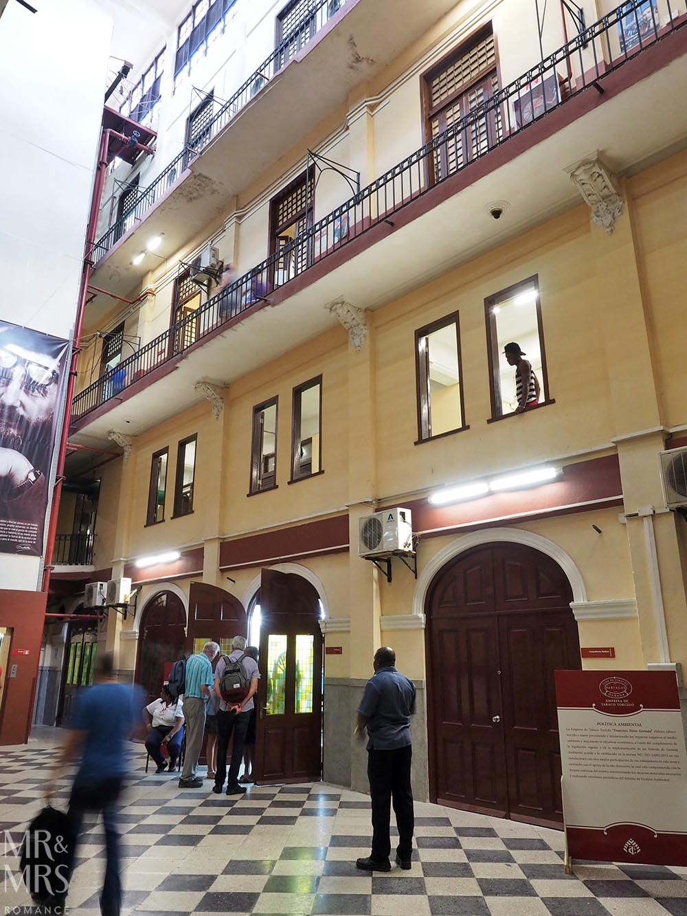 Cuban cigar factory tour Havana Partagas factory