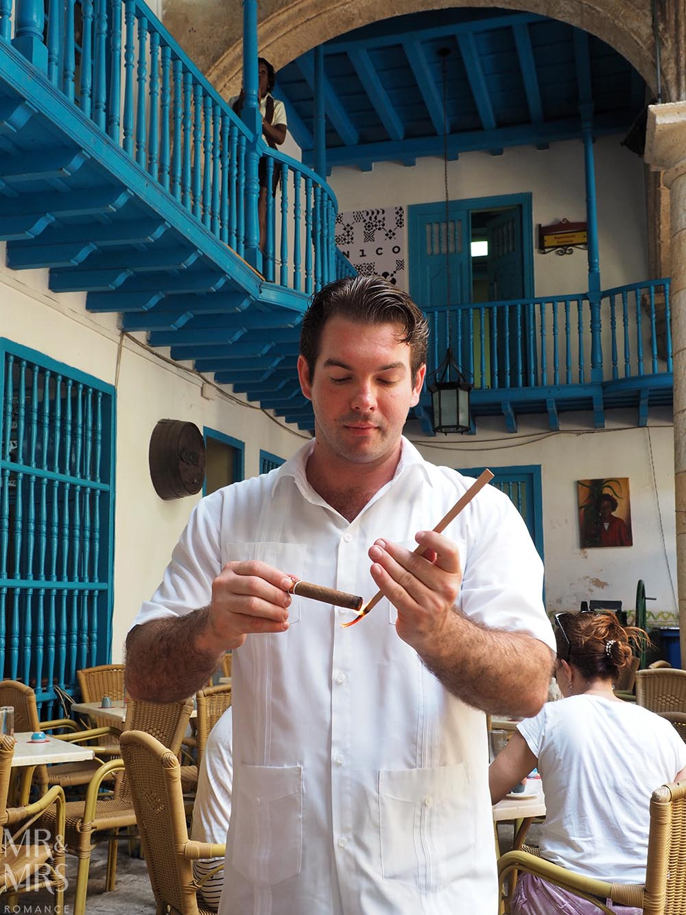 Cuban cigar factory tour Havana cigar sommelier