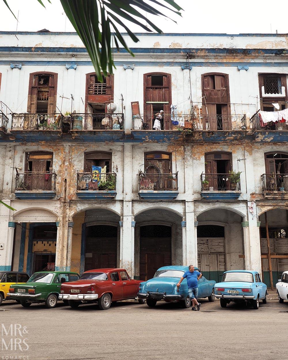 Cuban cigar factory tour Havana street scene