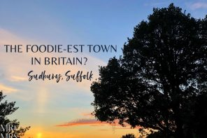 Where to eat in the English countryside – Sudbury, Suffolk