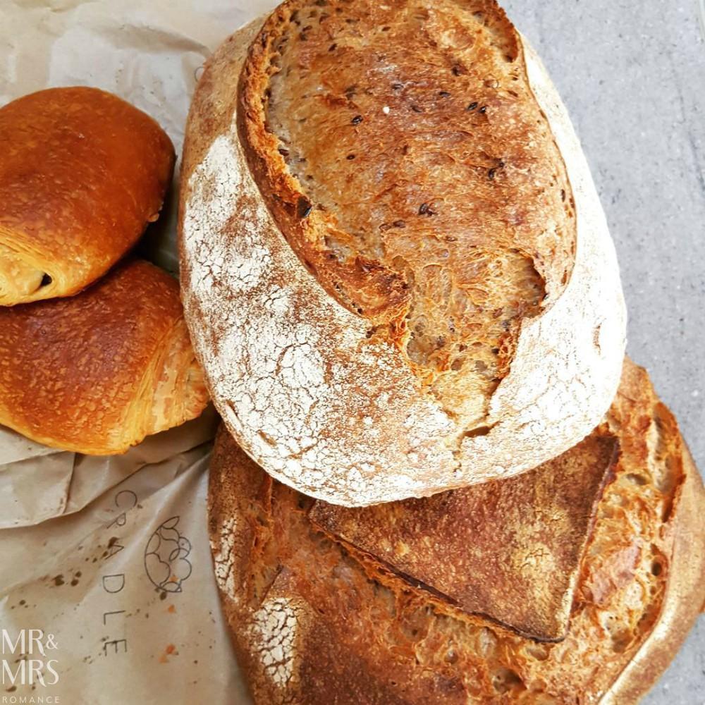 English countryside food - Cradle Sudbury bread