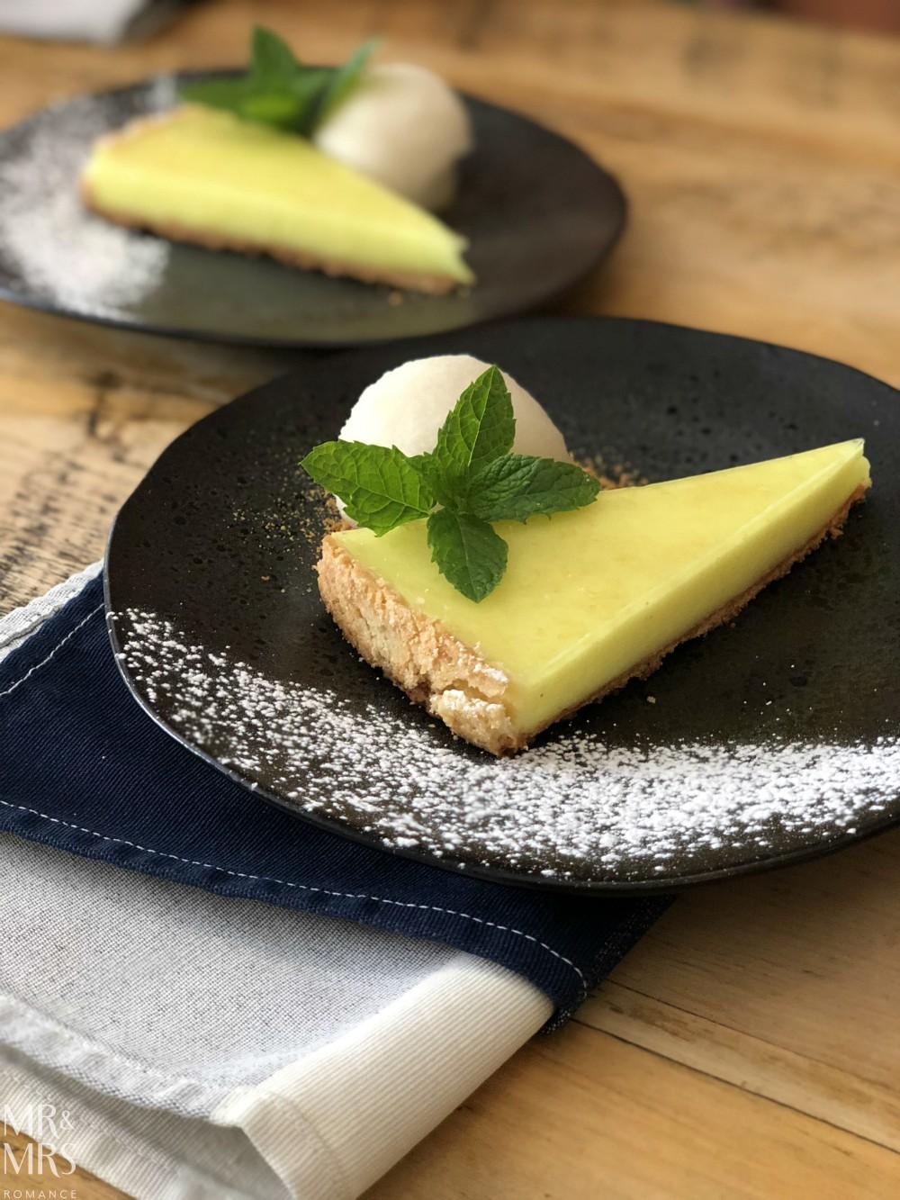 English countryside food - Cradle Sudbury tart