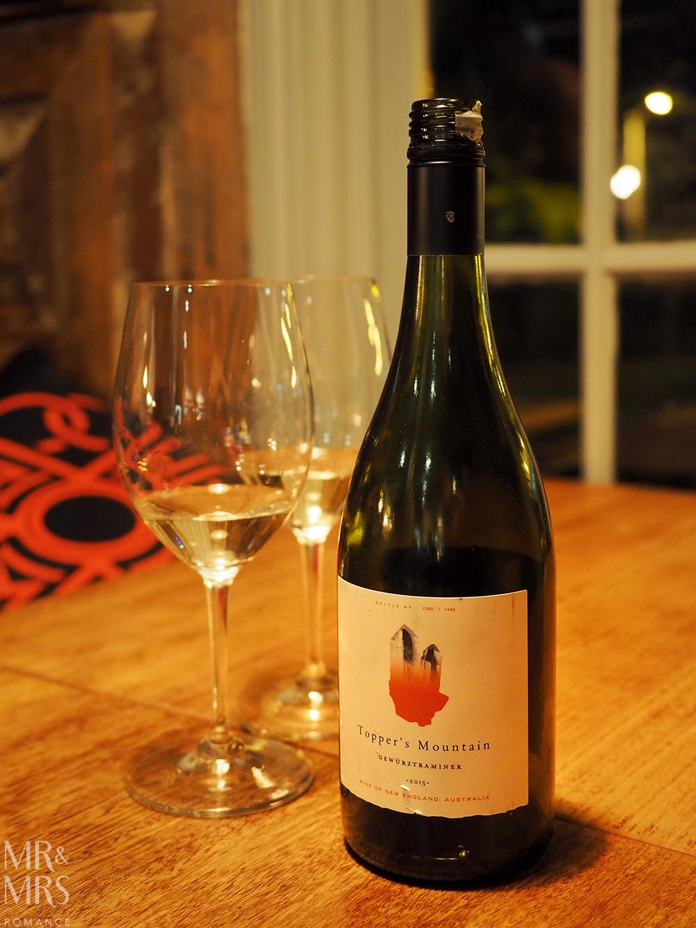 Gewurztraminer wine review - Topper's Mountain