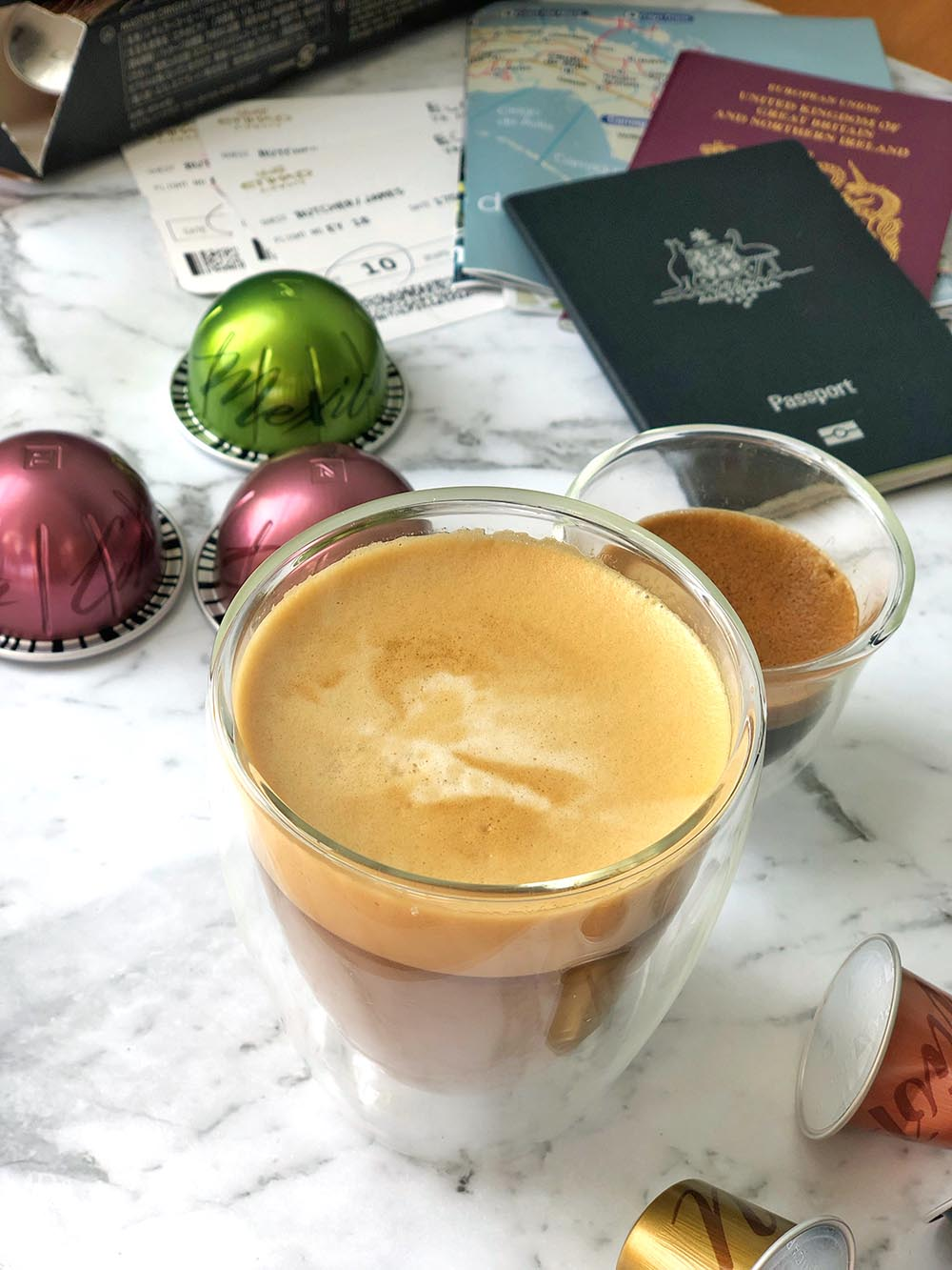 Nespresso Master Origins travel