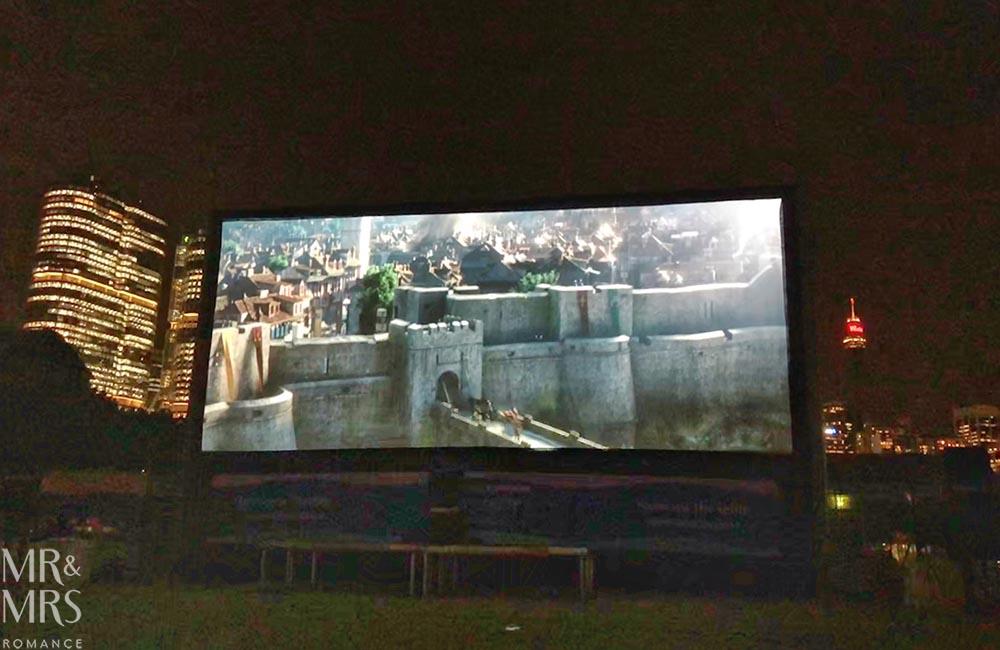 Openair Cinema Pyrmont movie