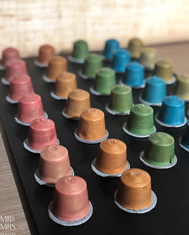 Nespresso George Street - Sepia capsule cakes