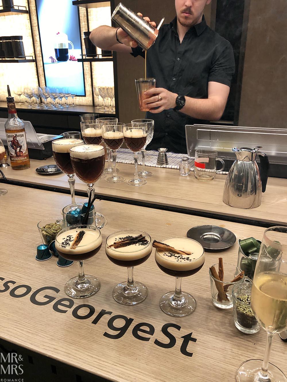 Nespresso George Street - cocktails