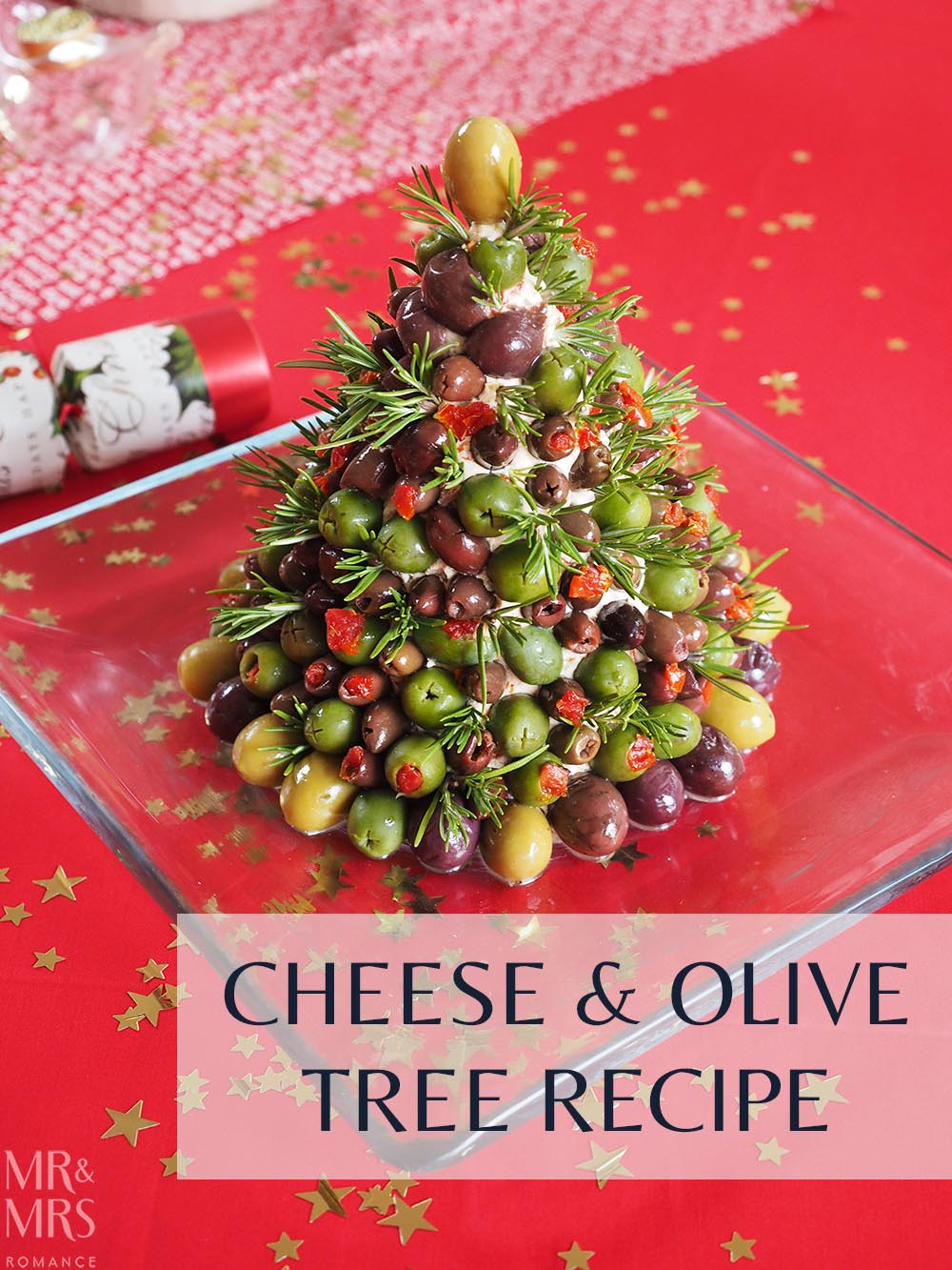 The Ultimate Cheese And Olive Christmas Tree Recipe Mmrmr And Mrs Romance