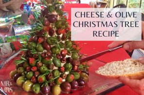 The ultimate cheese and olive Christmas tree recipe
