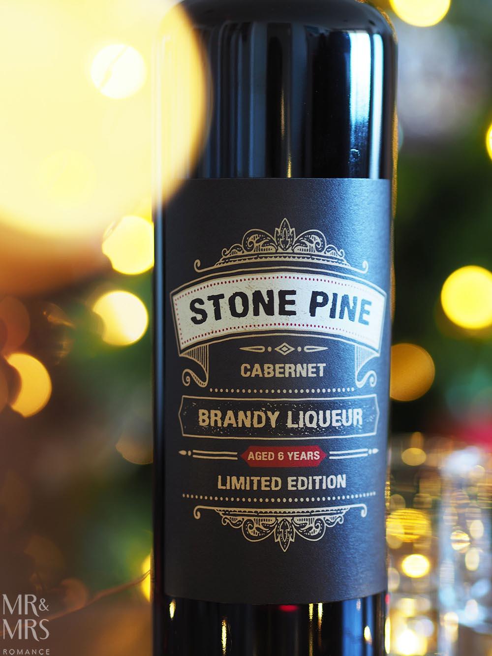 Last-minute Christmas gifts - Stone Pine Brandy Liqueur