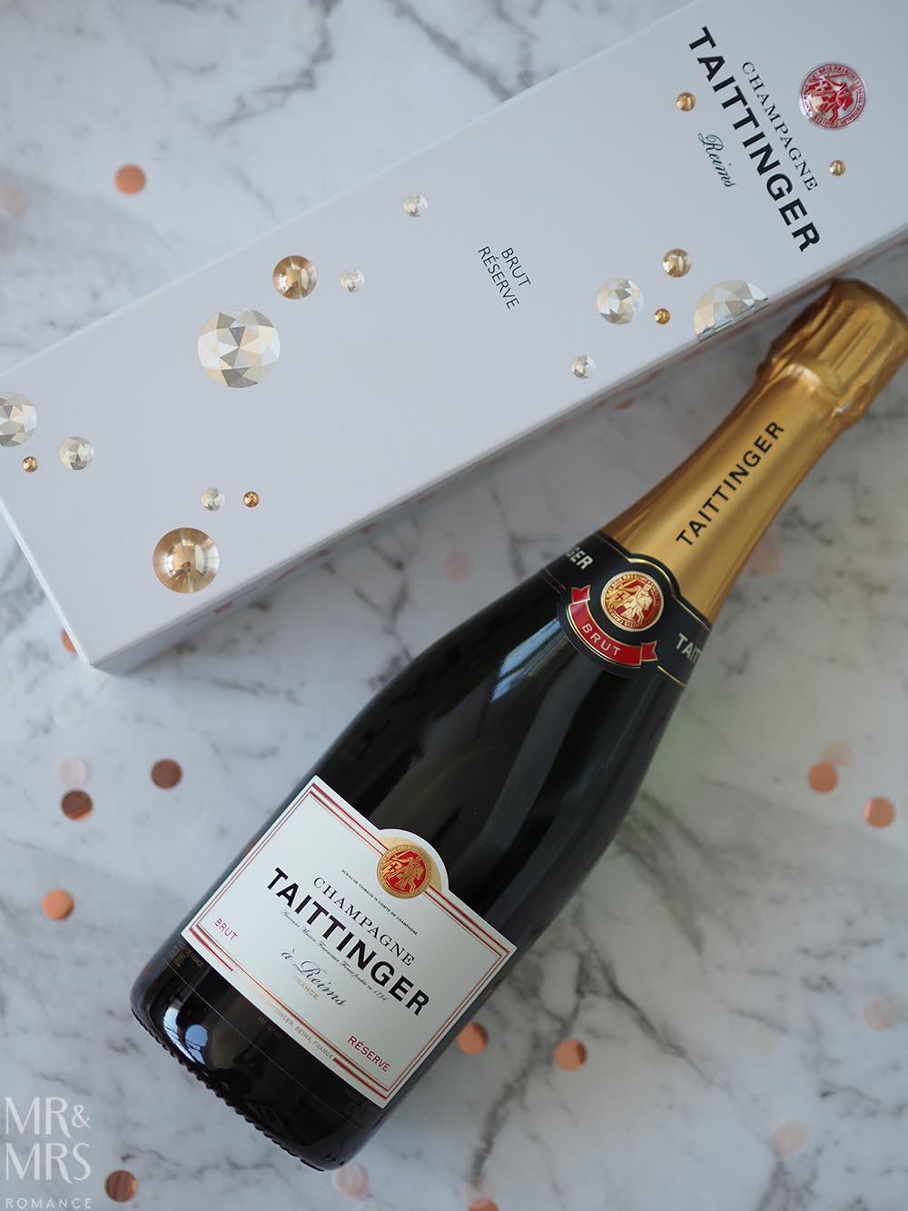 Last-minute Christmas gifts - Taittinger Champagne