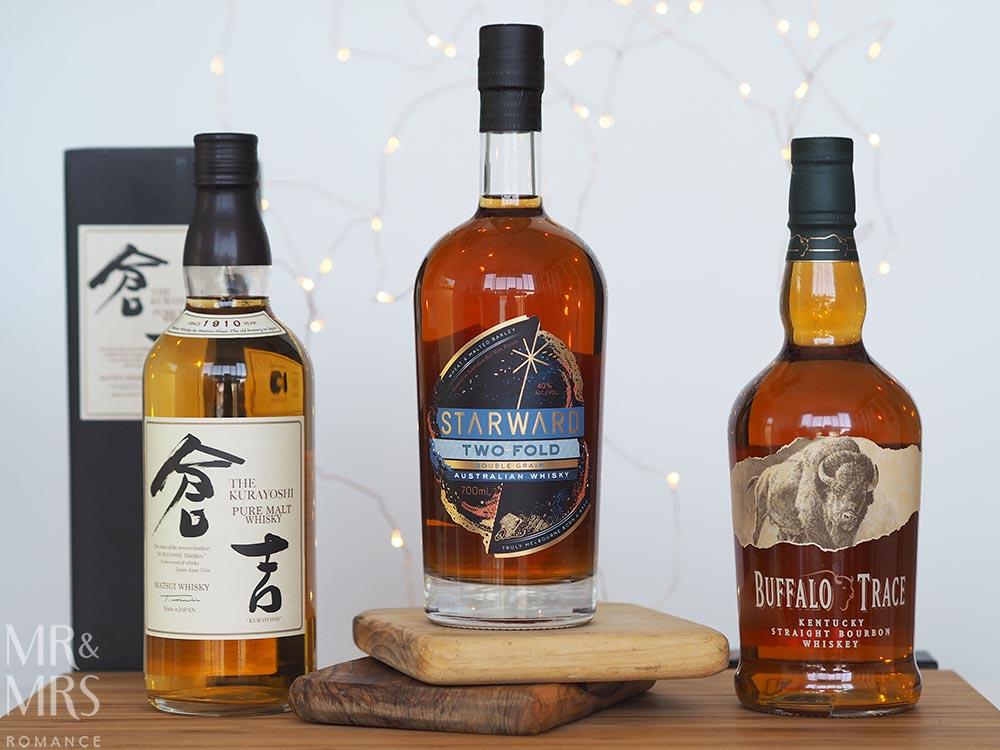 Last-minute Christmas gifts - whisky collage