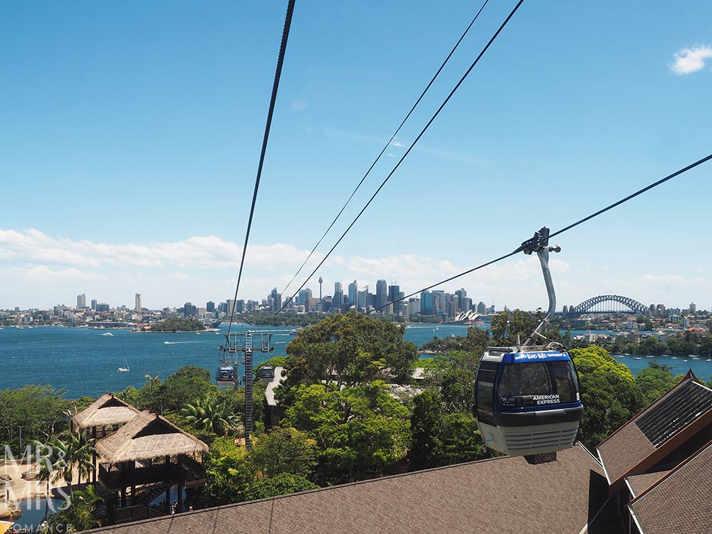 Taronga Zoo - cable car