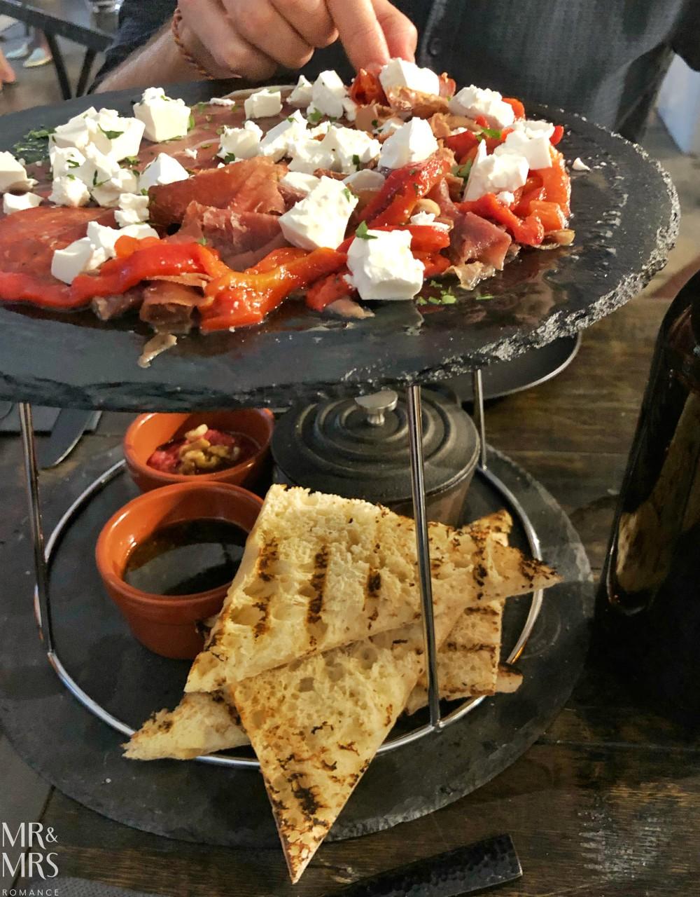 Elements bar and Steakhouse Darlinghurst - charcuterie