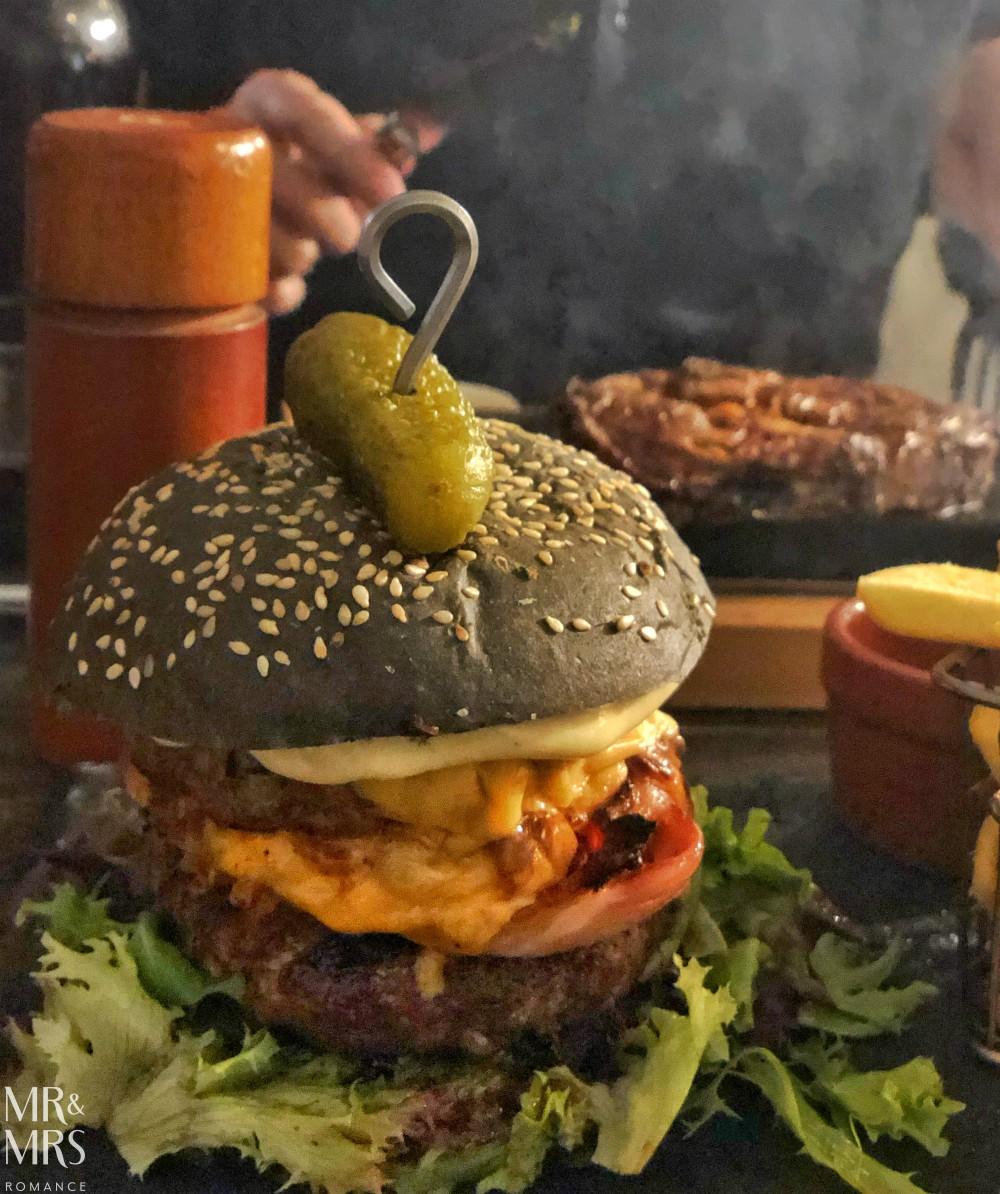 Elements bar and steakhouse Darlinghurst - burger